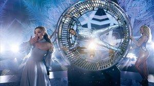 Rachel McAdams y Will Ferrell, en un fotograma de 'Eurovision. La historia de Fire Saga'