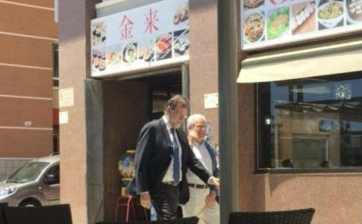 Rajoy al rescate de su plaza en Santa Pola.