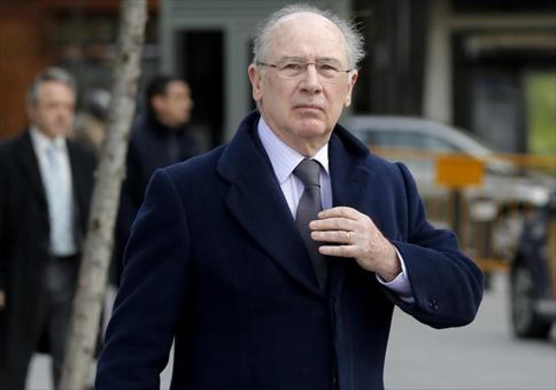 Rodrigo Rato llega a la Audiencia Nacional, el pasado 3 de marzo.