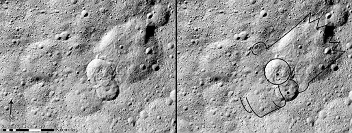 El rostro de Bart Simpson denomina un tipo de deslizamiento masivo del planeta Ceres.