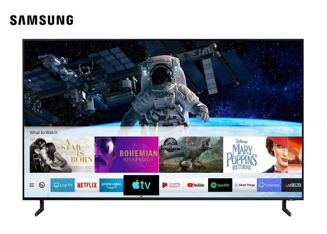 Lanzador de Apple Tv en Samsung.