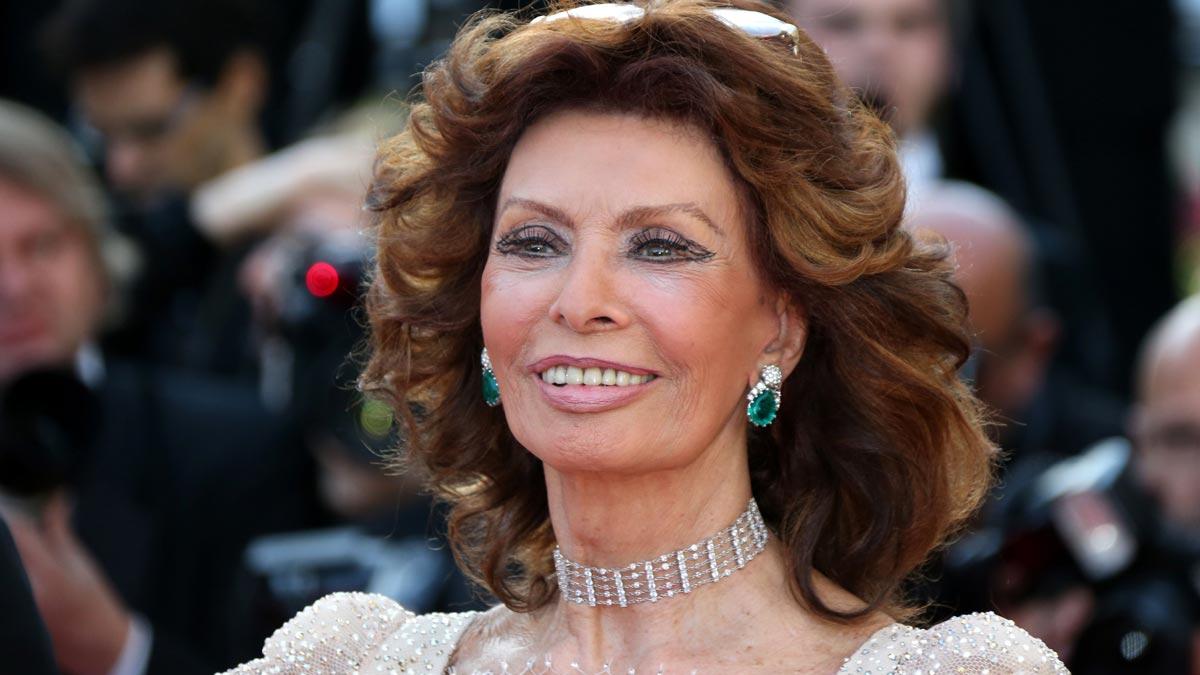 Sophia Loren cumple 85 años.