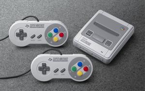 La Super Nintendo Classic Mini.