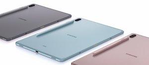 Tableta Tab S6, de Samsung.