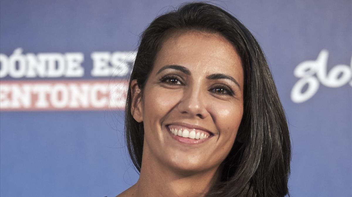 Ana Pastor, directora y presentadora del programa de La Sexta El objetivo, en Vitoria.