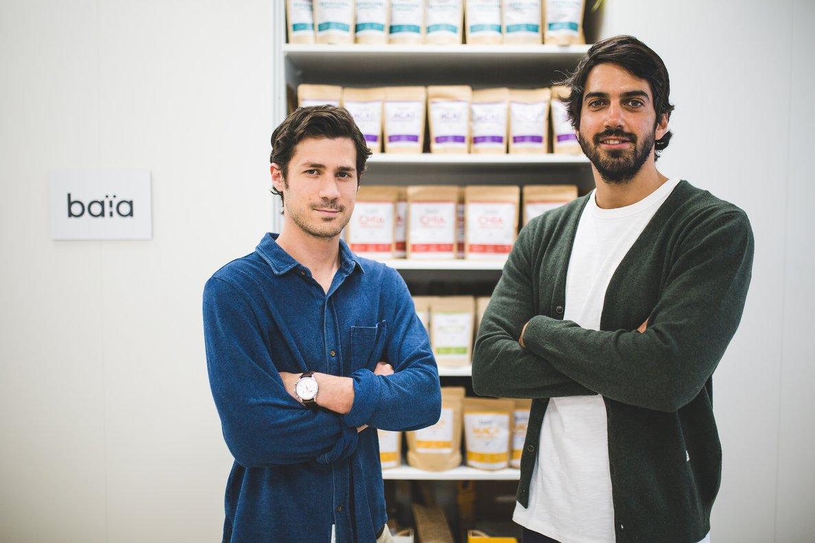 Los fundadores de Baïa Food.