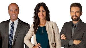 Els presentadors del 'Telenotícies Vespre' donaran la benvinguda al 2020 a TV3