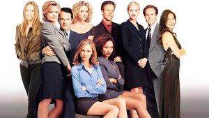 Una imagen promocional de la serie 'Ally McBeal'