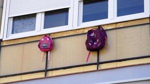 Una minoria de pares es nega a escolaritzar els seus fills per por del virus