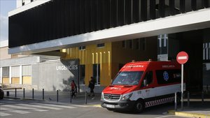 Urgencias del Hospital Parc Taulí de Sabadell (Barcelona).