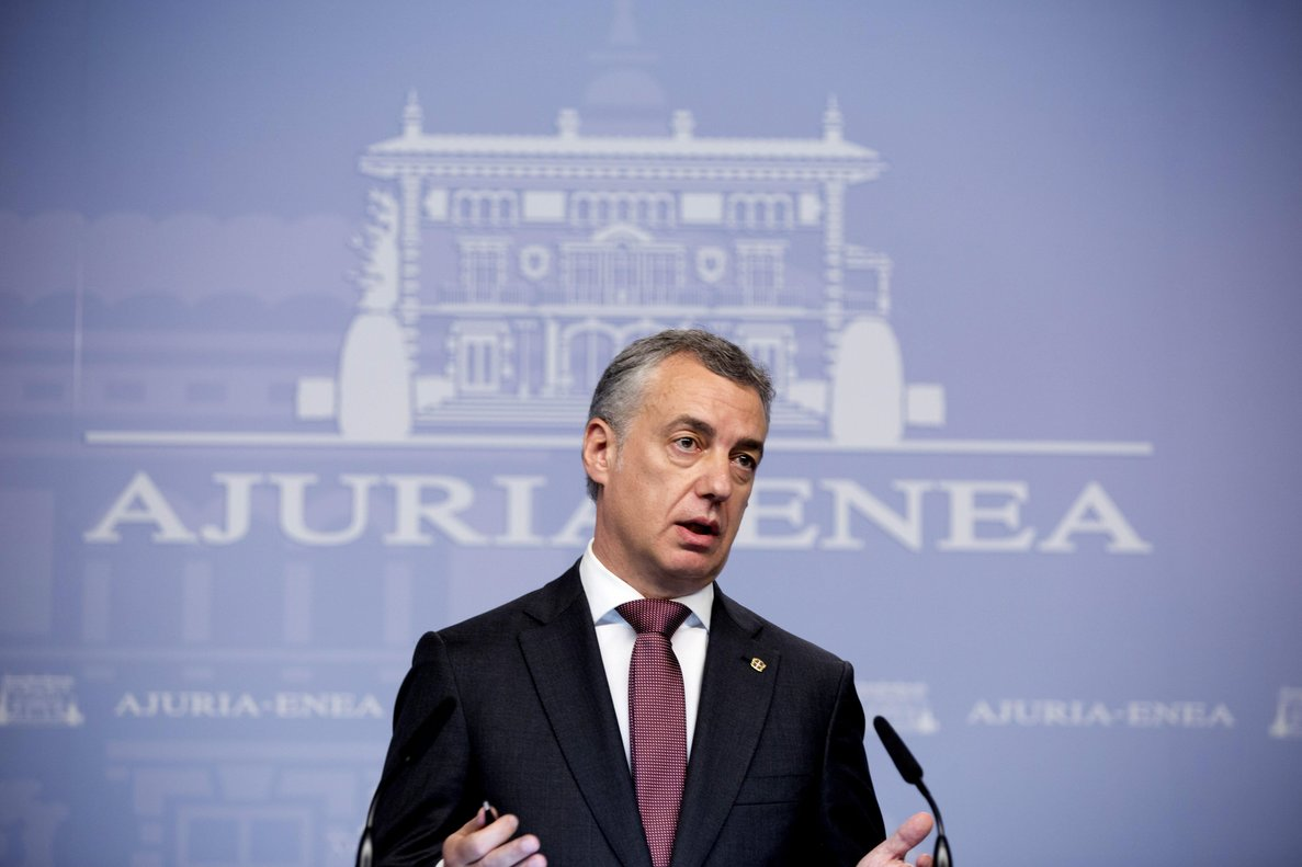 Urkullu dio un discurso ante decenas de compatriotas en un hotel de Manhattan.