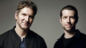 David Benioff (izquierda) y D.B. Weiss (derecha), guionistas de Juego de Tronos.