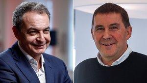 Zapatero: «Otegi va ser decisiu per al final d'ETA»