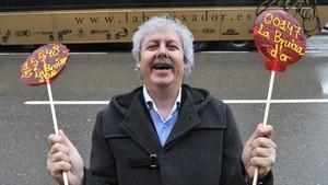Xavier Gabriel, propietario de La Bruixa d'Or.