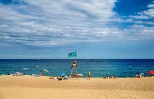 El litoral de Plaja d'Aro.