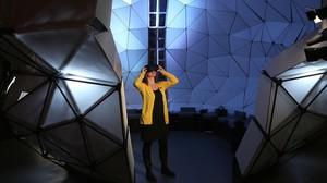 Un espacio de Talking Brains, exposición sobre el lenguaje inaugurada en Cosmocaixa.