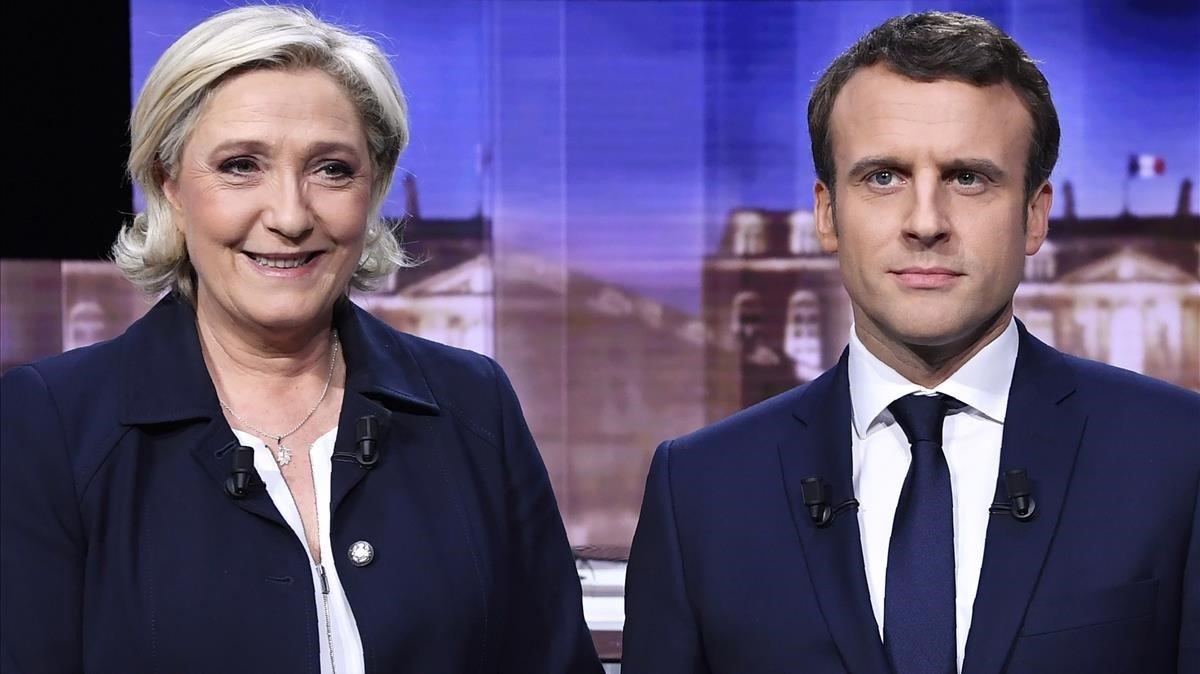 Les eleccions europees agreugen el duel entre Macron i Le Pen