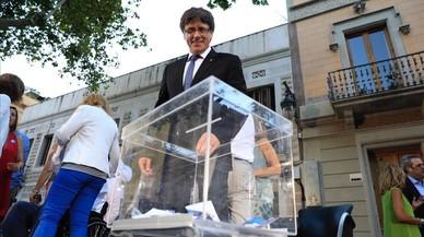 Puigdemont assegura que ja té lligades les urnes de l'1-O