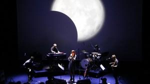 Un momento del concierto de Maria Rodés.