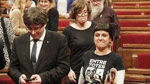 """La CUP: """"Puigdemont ens ha fallat"""""""