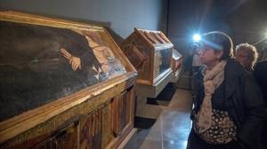 El retorno de las obras del Museu de Lleida a Sijena hace pocos díasha marcado la campaña electoral.