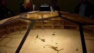 El teatro del mundo, de Huang Yong Ping, en el Guggenheim de Bilbao.