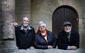 """Ramon, Dolors i Salvador: """"La nostra comuna era molt ordenada i disciplinada"""""""