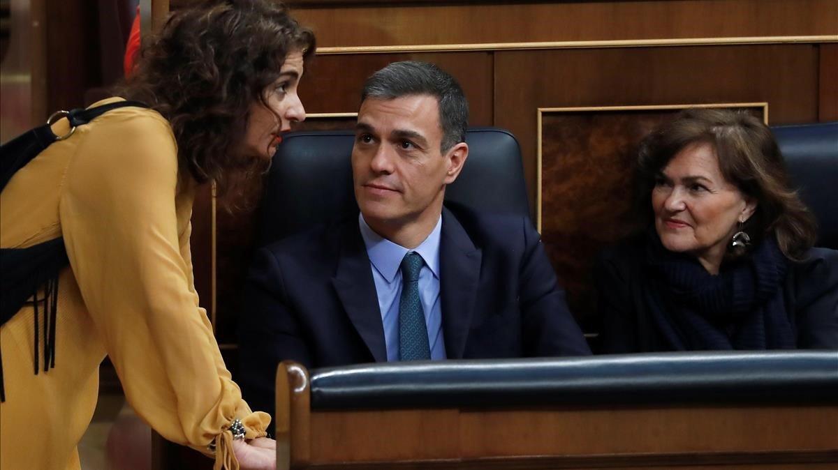 """La ministra d'Hisenda anuncia que aquest divendres se sabrà la data de les eleccions i avisa que """"hi haurà ajustaments"""""""