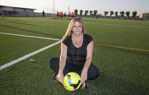 """Teresa Serradell: """"En el futbol, com a la vida, tot és joc i atzar"""""""