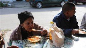 Menjadors socials al país de la carn, el blat i la soja
