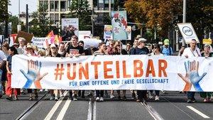 Alemanya es manifesta contra l'ascens de la ultradreta
