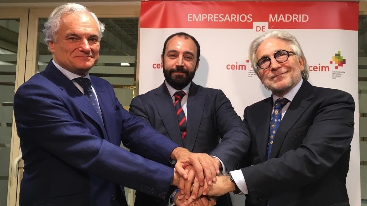 Alianza de Foment con la patronal madrileña