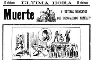 El caso de Isidre Mompart, kilómetro cero de la crónica negra del periodismo barcelonés.
