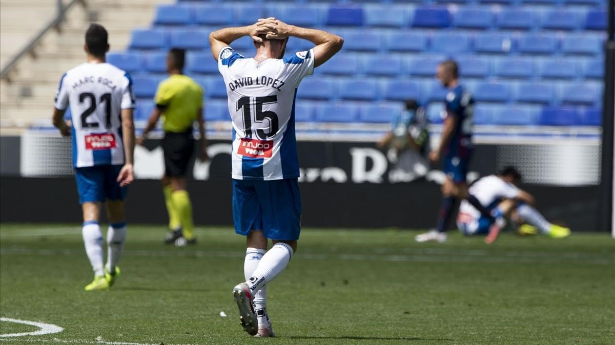 Un Espanyol impotent pateix una frenada en la seva escalada