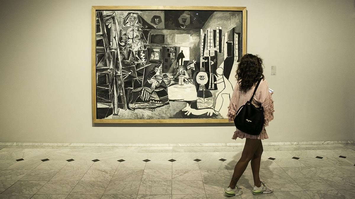 El Museu Picasso de Barcelona.