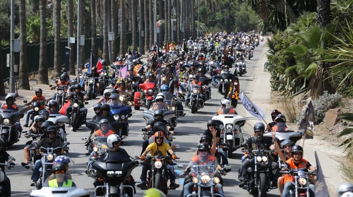 Custom Harley Davidson >> Harley no hará este año la concentración de motos en Barcelona