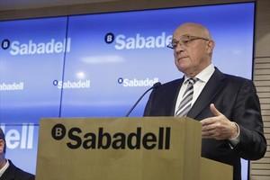 Josep Oliu, presidente de Banc Sabadell.