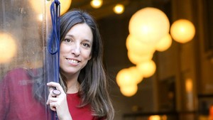 La escritora Llucia Ramis, ganadora del Premi Llibres Anagrama