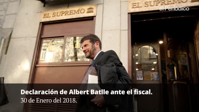 Declaración Albert Batlle