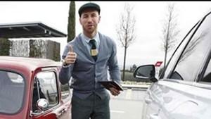 Sergio Ramos presentó su nuevo vehículo