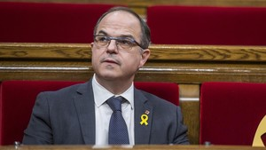 Jordi Turull, en el Parlament