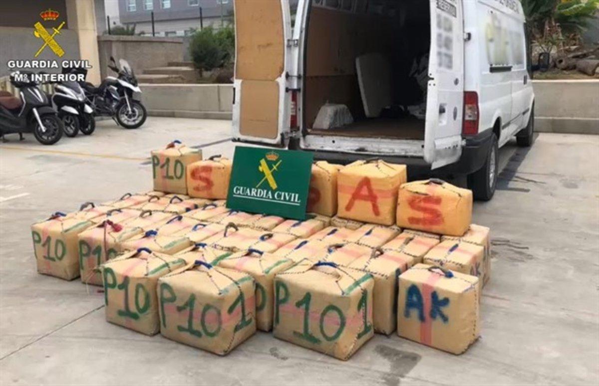 Desarticulada un organización de narcotraficantes en Canarias y detenidas 17 personas