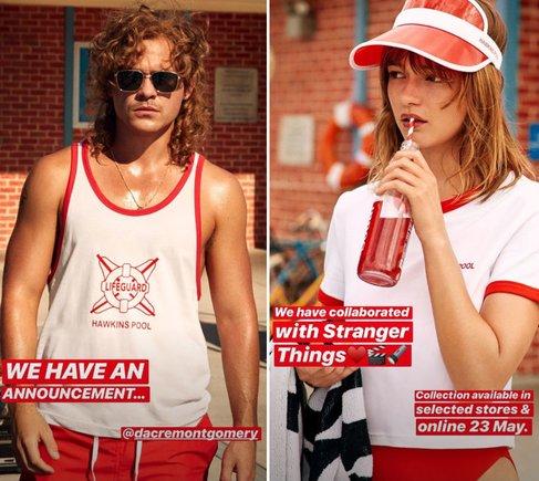 Resultado de imagen de h&m stranger things