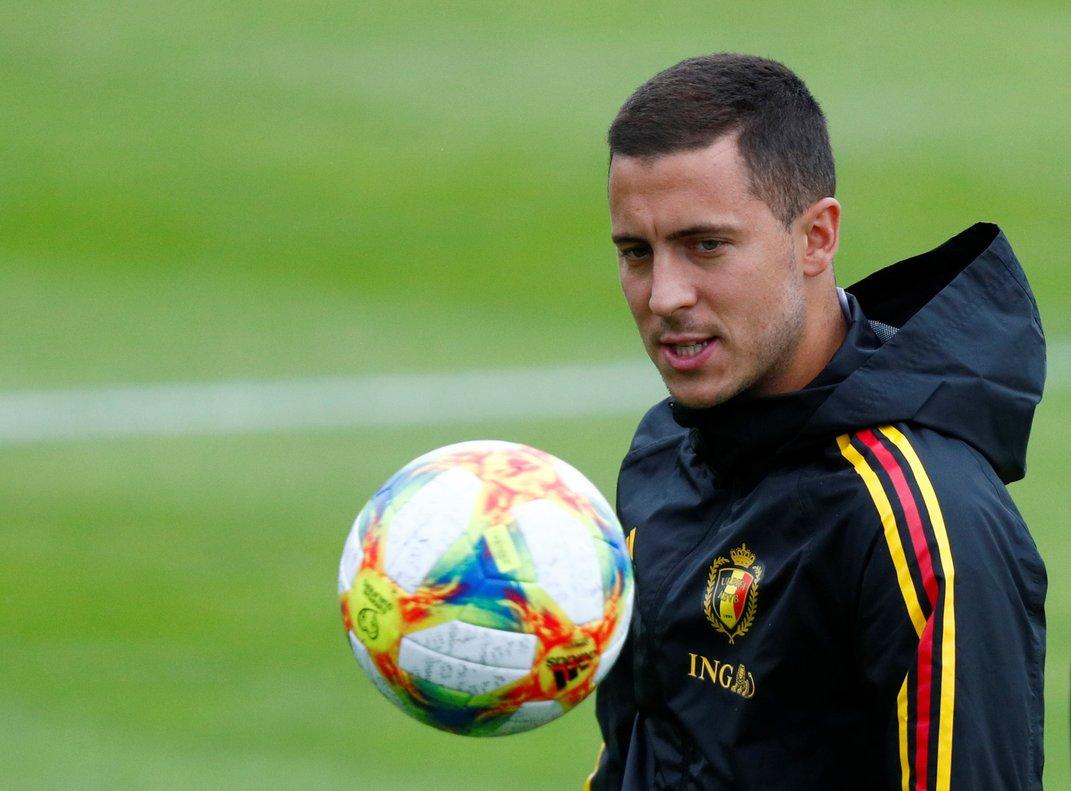 Eden Hazard, nuevo jugador del Real Madrid.