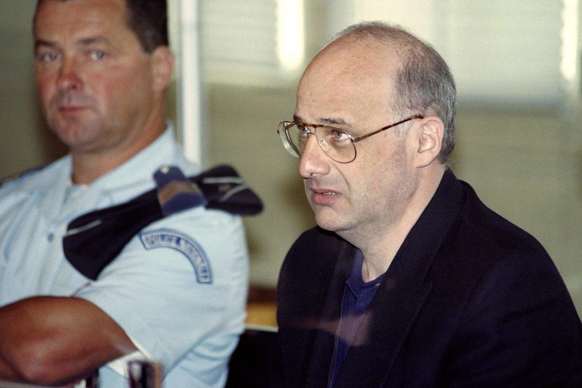 Jean Claude Romand, el francés que asesinó a su esposa, sus hijos y sus padres.