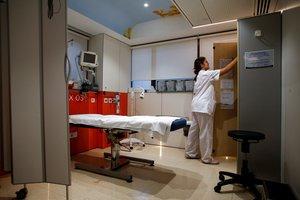 Una enfermera en una imagen de archivo.