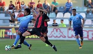 El Reus se enfrentó al Girona en pretemporada