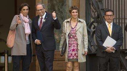 """Torra declara davant del jutge que l'ordre de retirar els llaços grocs era """"imprecisa"""""""