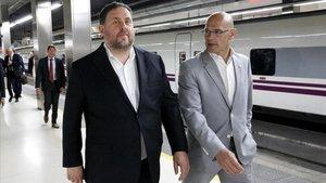 Junqueras demana traslladar el Suprem a Barcelona per celebrar el judici a la capital catalana