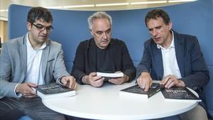 Servicio estilo Ferran Adrià